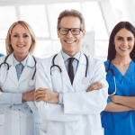 physicians on a medical team