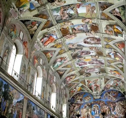 vedere-cappella-sistina-3d-computer-virtual-visit-Sistine-Chaple-vatican