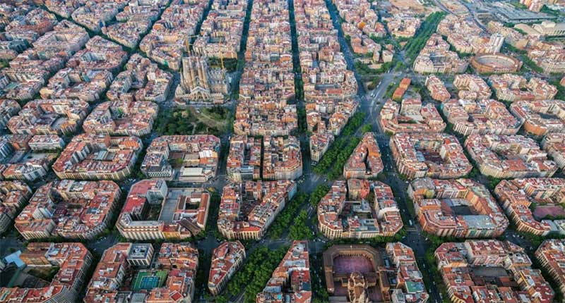 Eixample from Above