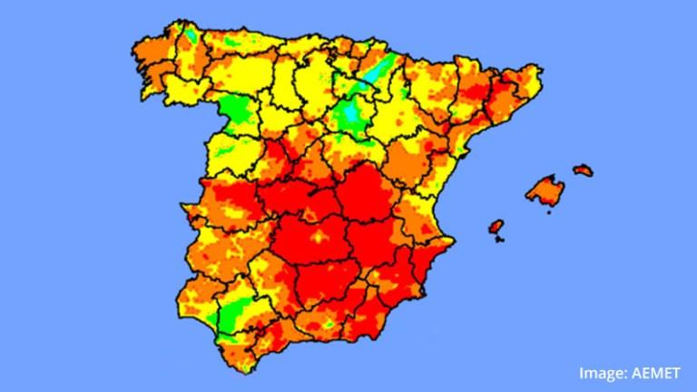 Heatwave in Spain