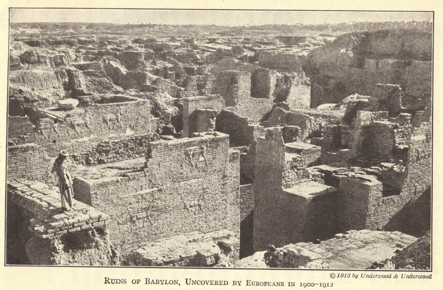 Ruins Of Ancient Babylon In Modern Iraq