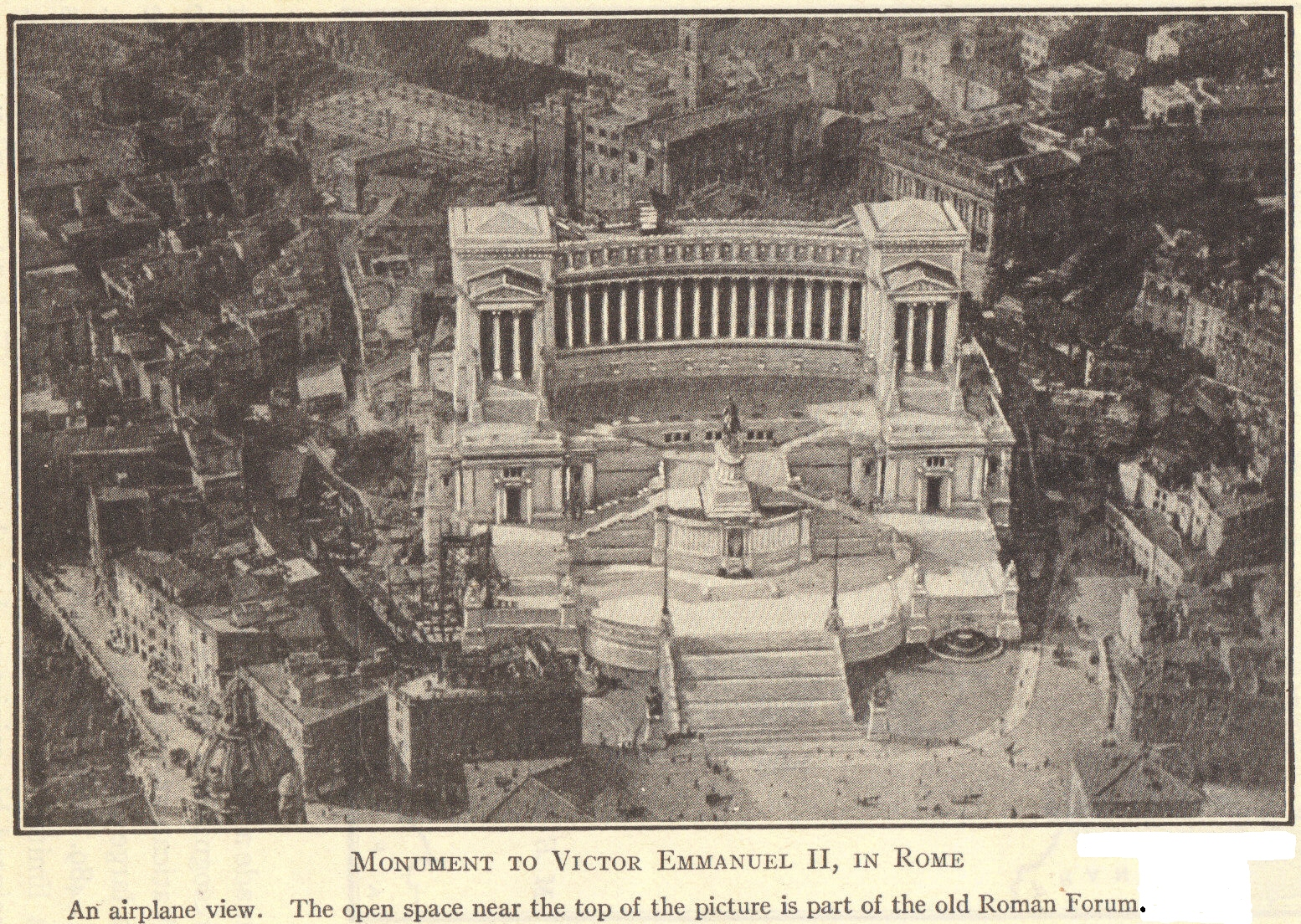 Monument To Victor Emmanuel Ii In Rome