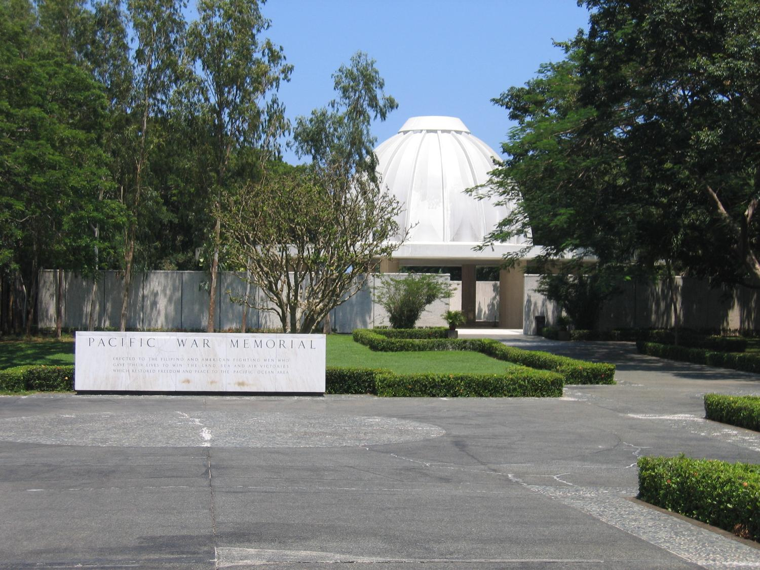 Entrance Of The Pacific War Memorial Philippines