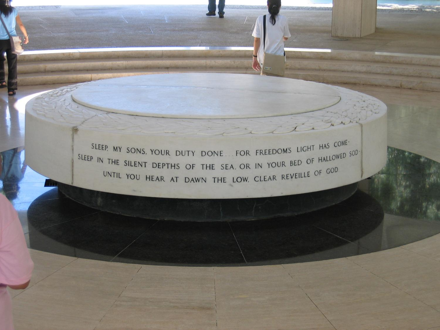 Pacific War Memorial Altar Philippines