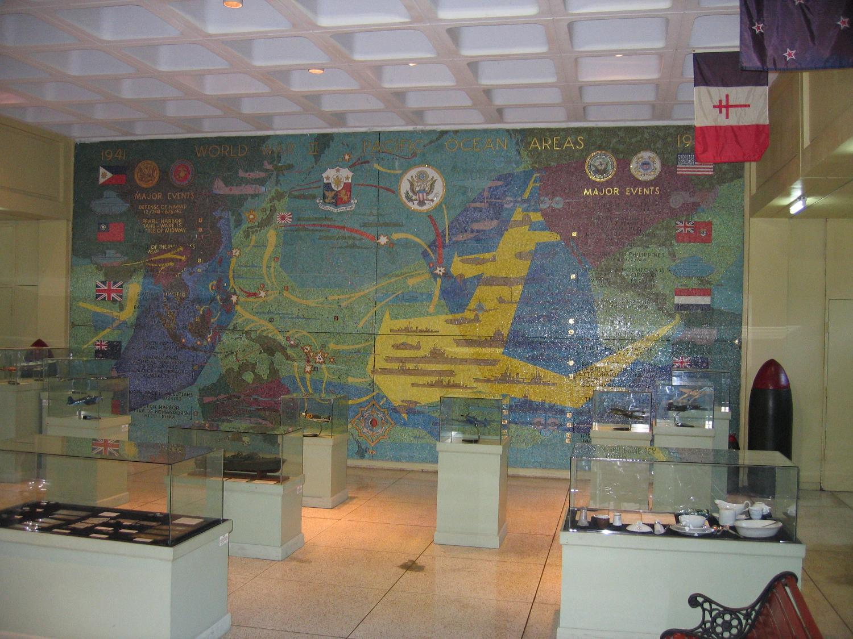 Pacific War Memorial Museum Display
