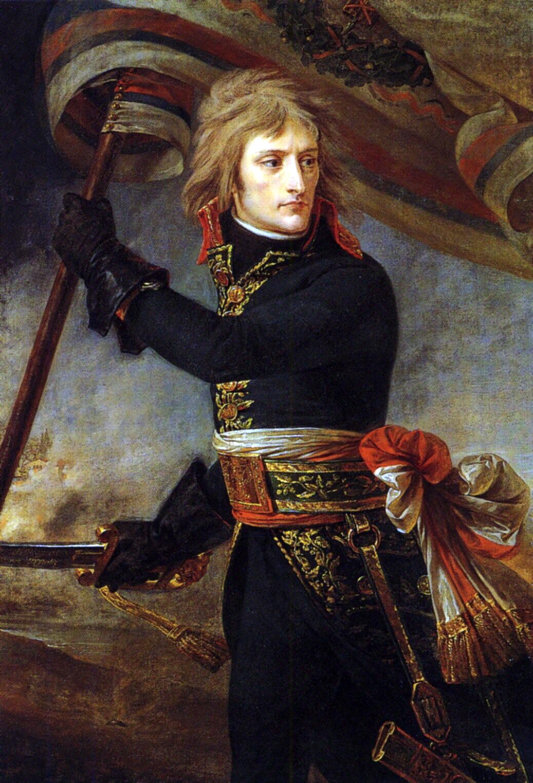Napoleon On The Bridge At Arcole