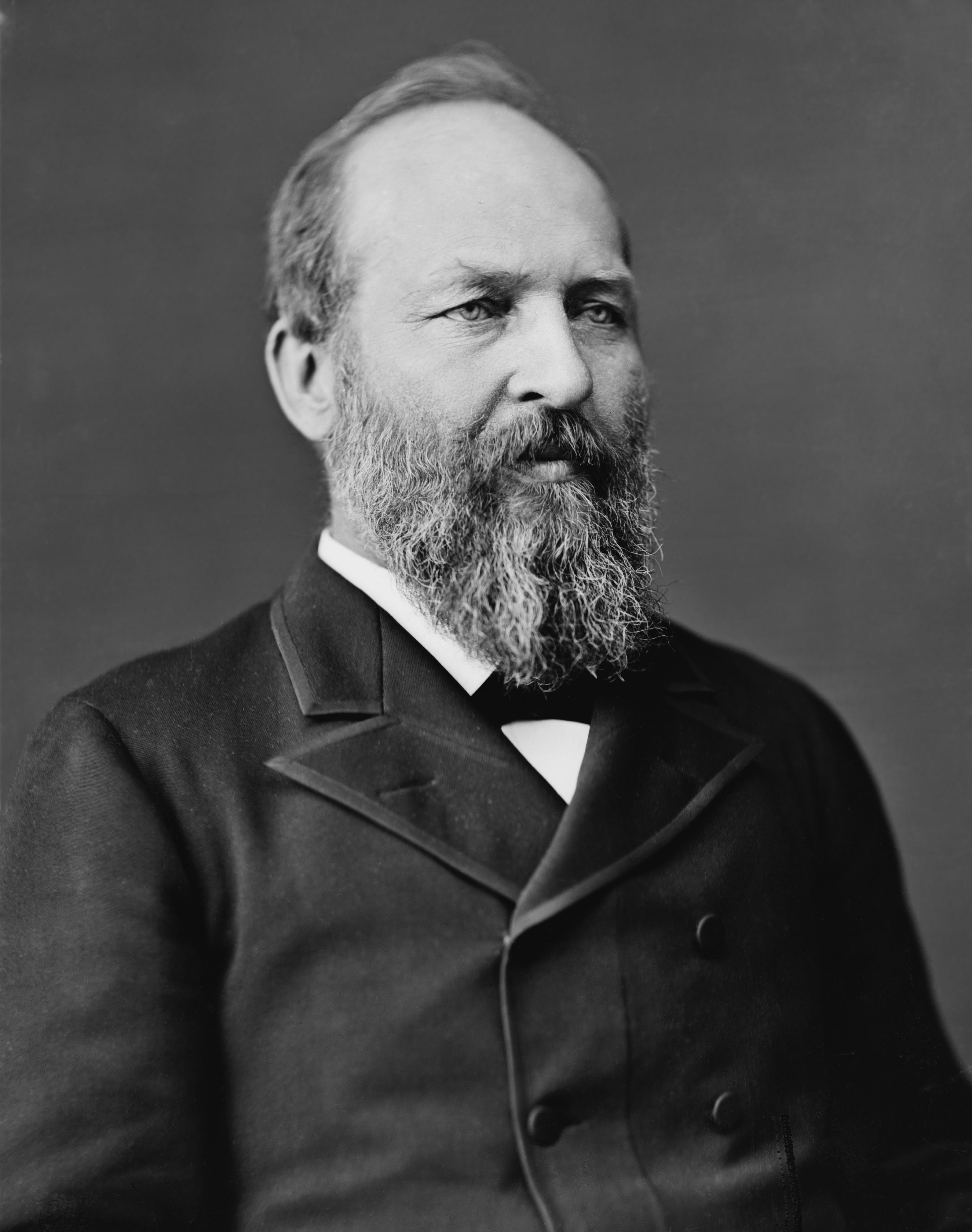 Photograph Of President Garfield