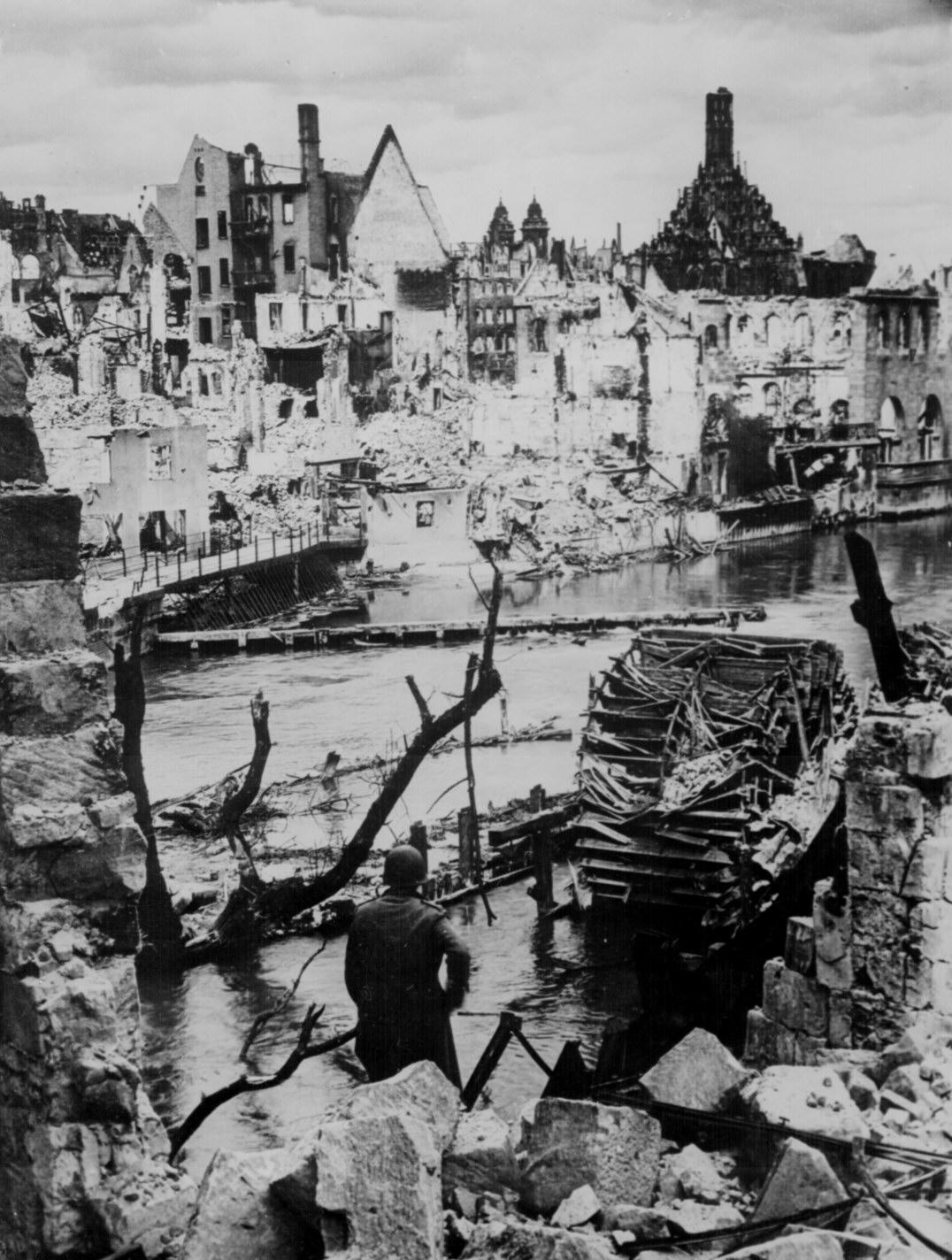 Liberated Nuremberg Germany