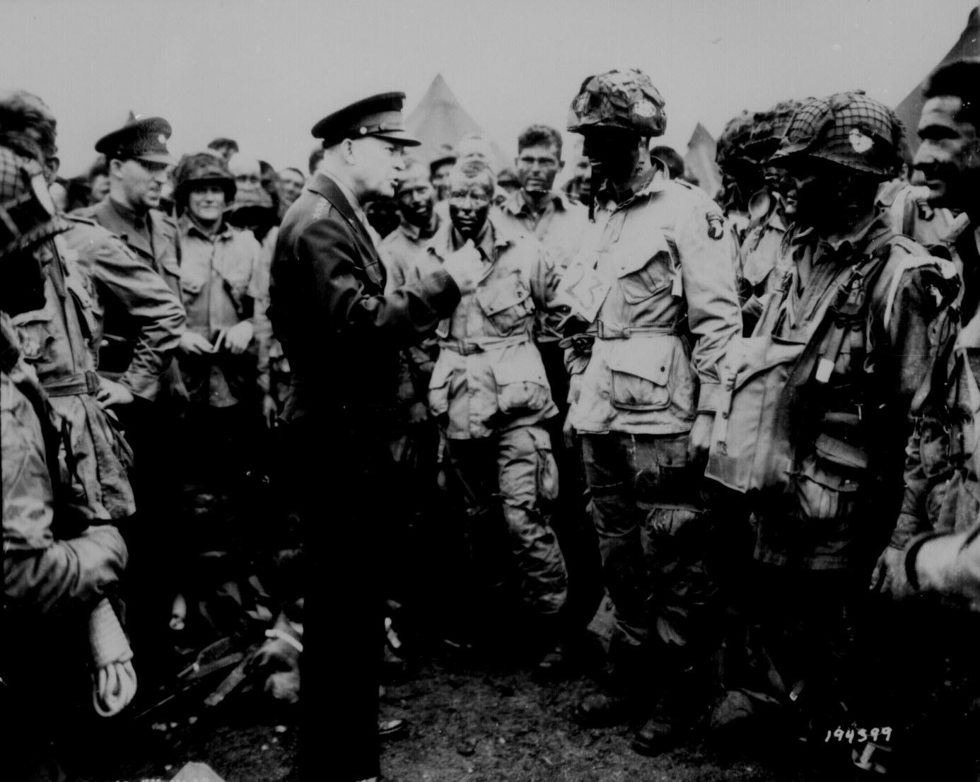 General Dwight D Eisenhower On D Day