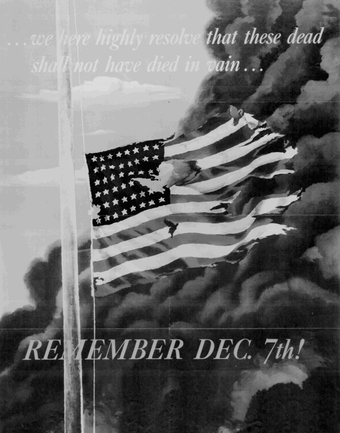 Pearl Harbor Remembrance Poster