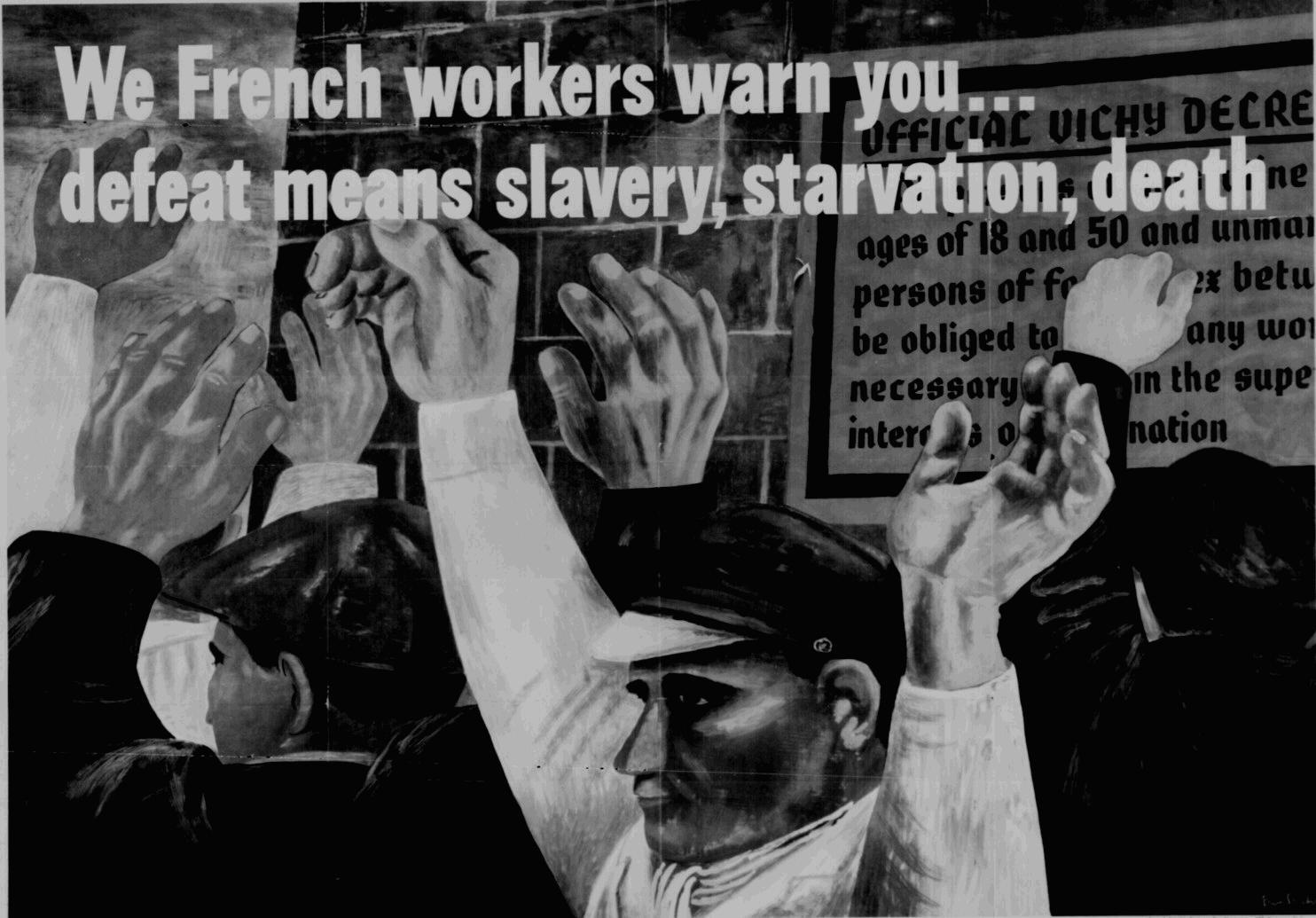 World War Ii Workers Propaganda Poster