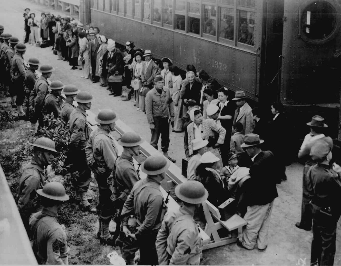 Japanese Evacuees Santa Anita Assembly Center