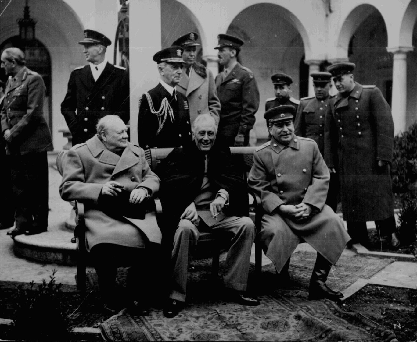 Big Three At The Yalta Conference
