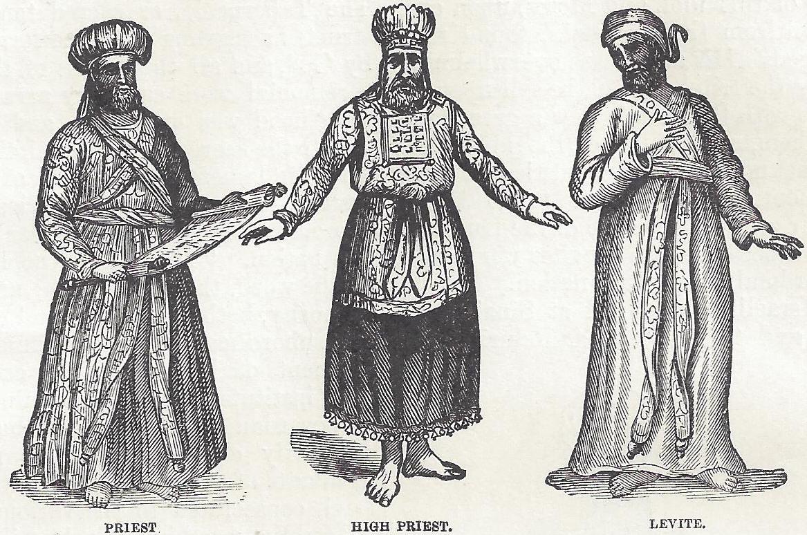 Israelite Priest High Priest And Levite