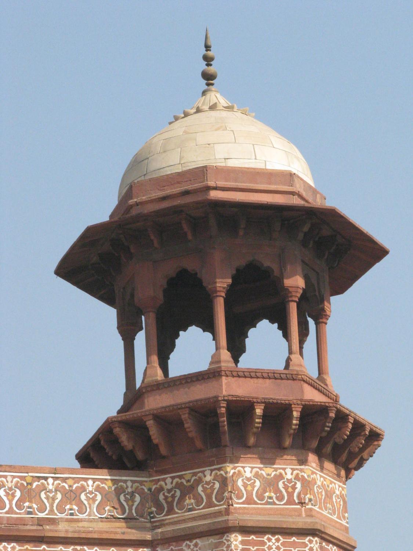 Minaret At The Taj Mahal