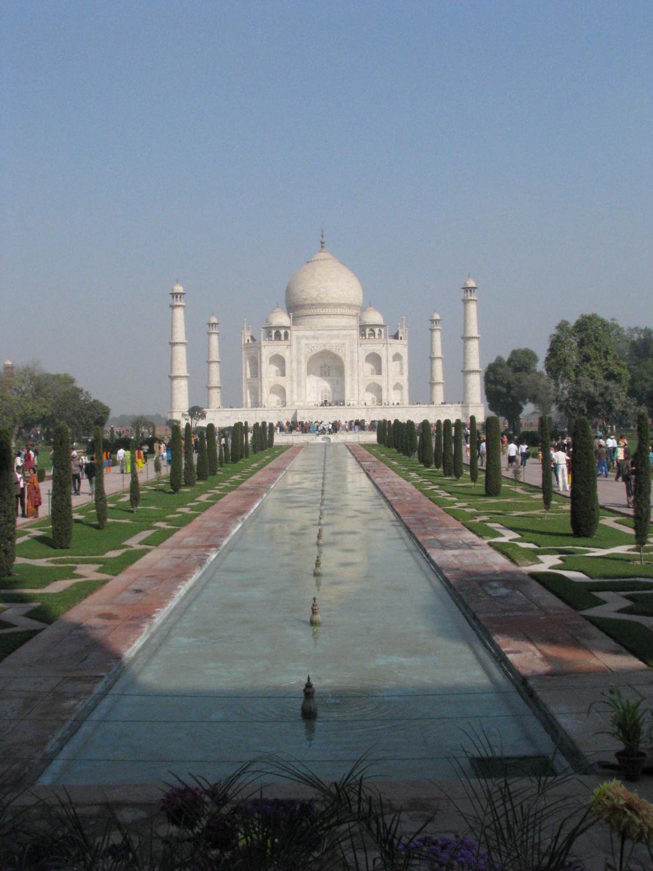 Reflecting Pool At The Taj Mahal