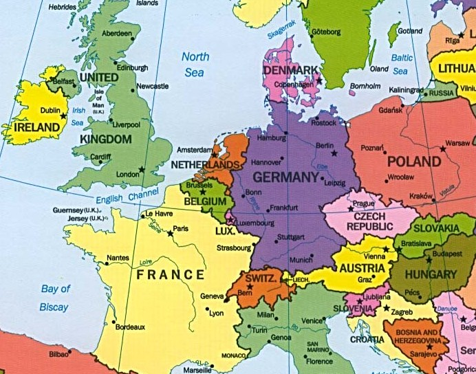 Image result for images map of france belgium