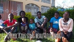 Otepic kids sing beautiful song