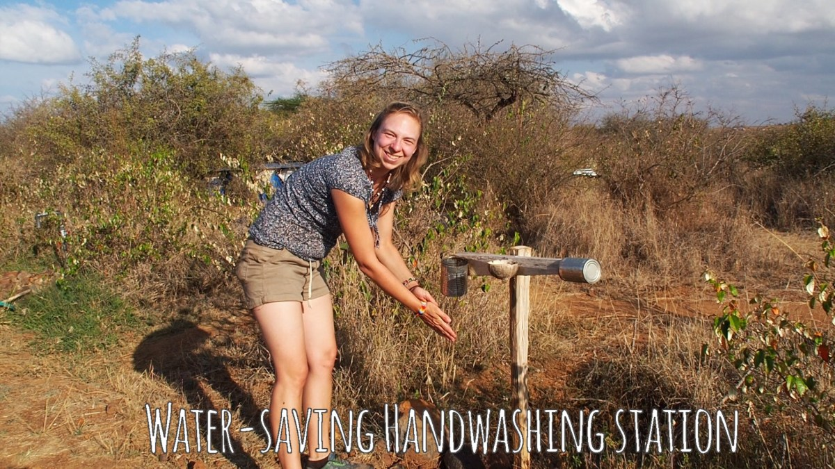 Water-Saving Handwashing Station