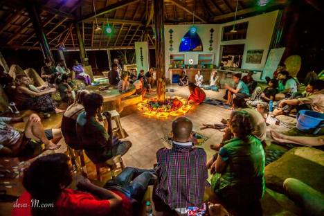 Opening Ceremony of Ecovillage Design Education Course