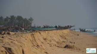 Local fishermen in Gulf of Bengal