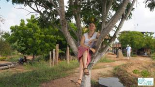 Chilling in a tree in Nadukuppam