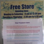 Free Store Users' Instructions