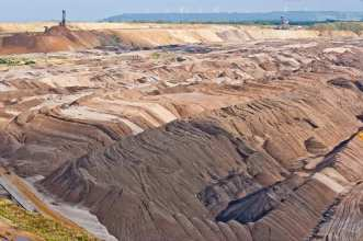 Europe's largest open pit lignite mine
