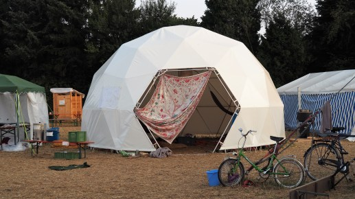 Chill-out tent