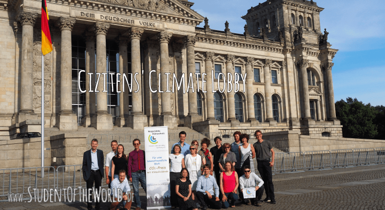 Lobbying for Planet Earth at Bundestag
