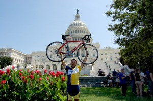 Robby Smith, a junior and member of Pi Kappa Phi, will travel across the country this summer with Journey of Hope, which benefits the national philanthropy of his fraternity and supports people with disabilities. Courtesy photo
