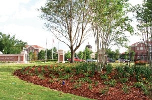 The University of Southern Mississippi's Hattiesburg campus is still undergoing landscape changes after an EF-4 tornado struck the campus in February.
