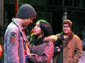 """Cast members pose for a scene from this season's opening production, """"Rent."""" Zachary Odom/Printz"""