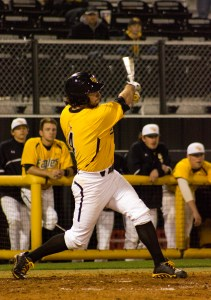 Sophomore Breck Kline entered the game in the eighth inning as a pinch hitter and delivered with a game-winning RBI single. Hunt Mercier/Printz