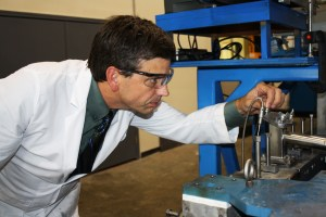 Jeffrey Wiggins was named the new director of the School of Polymers and High Performance Materials at USM after serving as interim director for the past year.  Courtesy Photo