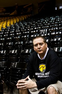 After two years with Southern Miss, Donnie Tyndall is bidding farewell to the Golden Eagles. It was announced in a news conference Tuesday that Tyndall will join Tennessee as their new head coach for the 2014-2015 season.   Zachary Odom/Printz
