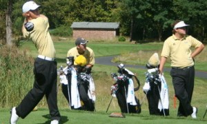 Zach Estep placed 78th after shooting 11-over par 83 at Old Waverly Collegiate Monday.  Courtesy Photo