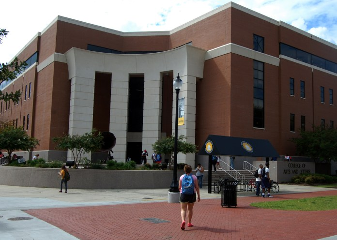 Every Southern Miss student is required to take a Liberal Arts class at some point during their collegiate career. The Liberal Arts Building is where students come to study these subjects.