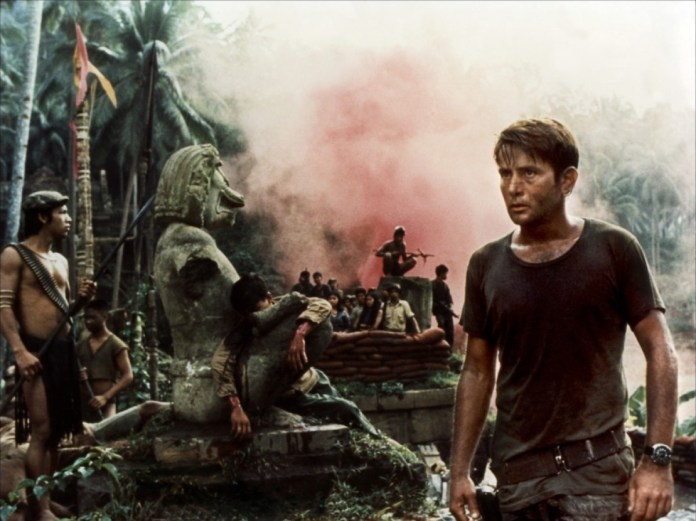 """A scene from the movie """"Apocalypse Now"""" is available for free streaming on Netflix."""