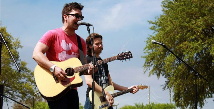 The band 49 Drive was one of the acts to perform at Phi Mu's annual festival benefiting Children's Miracle Network on April 13th, 2013 in Hattiesburg, MS. -Zach Odom/Archive