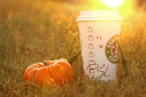 Pumpkin spice latte, courtesy photo