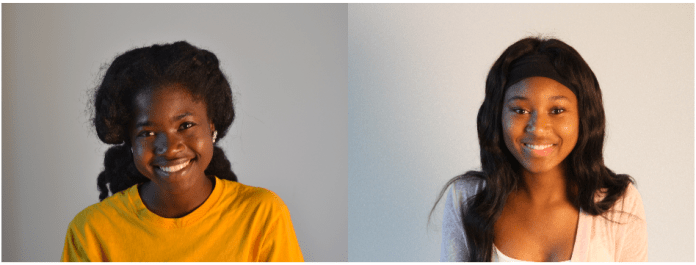 Doressa Williams (left) LaKeria Tubbs (right) - Photos by Jordan Crump, The Student Printz