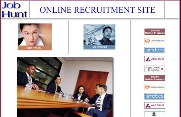 Online Job Script
