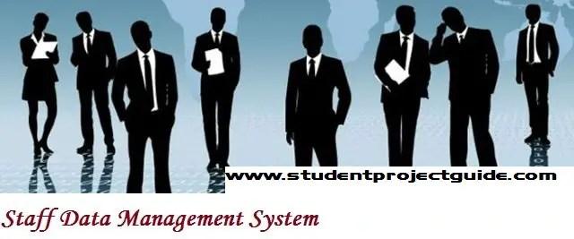 Staff Data Management System