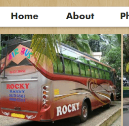 Online Tourist Bus Booking System