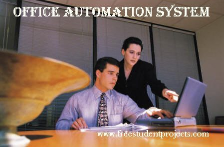 SRS Of Office Automation System