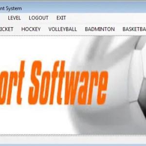 Sports Management System
