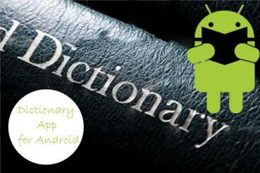 Android Dictionary App