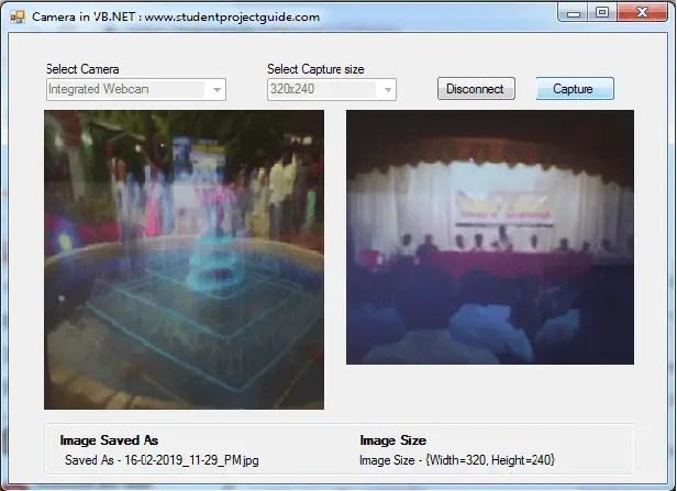 Webcam in VB.NET