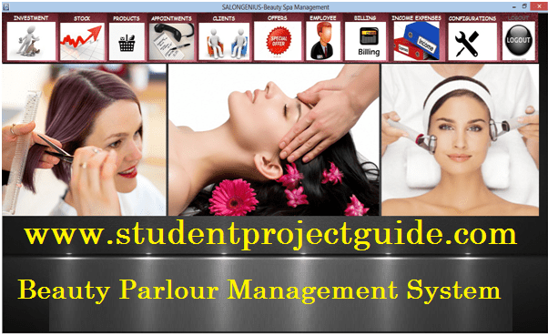 Beauty Parlour Management System